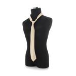 EM cotton Khaki tie