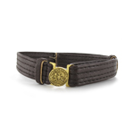 Officer leather belt