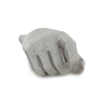 Gloved Right Hand Type D (Grey)