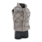 Sleeveless Polar Vest (Beige)