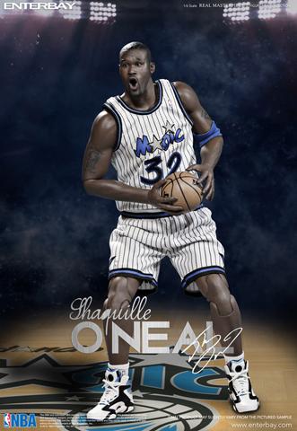 Custom 1//6 orlando magic Shaquille O/'Neal  jersey 32 NBA TOYs away black