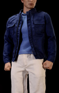 Steve Fashion Jacket Set 1 (Blue)