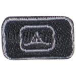Embroidered patch TAD (black)