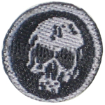 Patch brodé Crâne