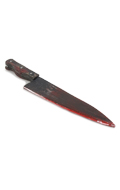 Wood and metal Serial Killer knife (Battle Damaged)
