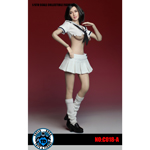 Set uniforme scolaire Femme Battle Damaged (Blanc)