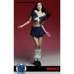 Set uniforme scolaire Femme Battle Damaged (Bleu)