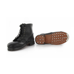 Leather Anckle Boots (Black) (Damaged)