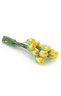 Bouquet of bud roses (Yellow)
