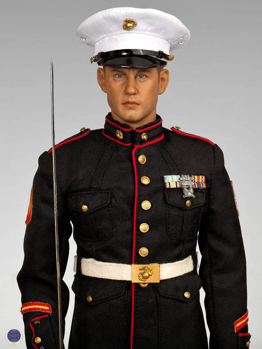 Figurine 1 6 Marines Am 233 Ricain Tenue De Parade Sans Le