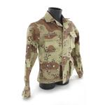 Veste BDU camouflage désert trois couleurs petit cailloux