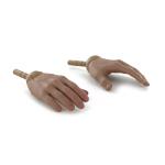 Paire de mains homme africain