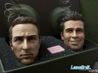 Brad Pitt & Edward Norton Headsculpts Set