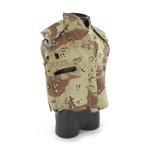 Desert camo PASGT flak jacket cover
