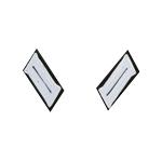 Hauptman Infantry Collar Tabs