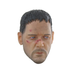 Russel Crowe Battle Damaged Headsculpt