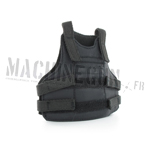Black body armor