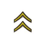 Paire de Chevrons Soldat de 1ere Classe