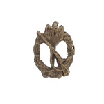 Diecast Infanterie Assault Badge (Bronze)