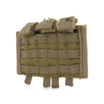 Molle 2 triple ammo pouch