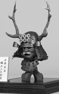 Series Of Empires - Red Buckhorn Six-Coin Kabuto en métal (Helmet Edition)