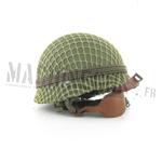 M1 helmet w/ net