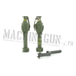 MkIII grenade w. M7 adaptaters and laucher