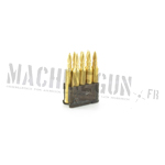 Metal bullets clip for M1 Garand