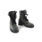 Black jungle boots