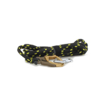 Rappelling Rope with Carabiner (Black)