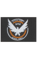 The Darkzone Agent Patch Type C (Black)