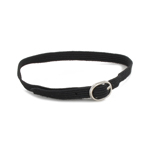 Round Buckle Belt (Black)