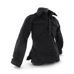 Chemise noire deux poches de poitrine