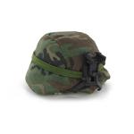 Casque PASGT avec couvre casque camouflage woodland