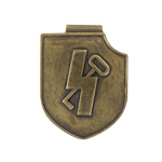 Diecast 12th Panzer Elite Insignia Lifesize Replica (Bronze)