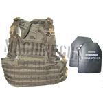 Recon chest harness w/ ballistic hard plates