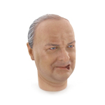 Headsculpt Winston Churchill fumeur de cigare