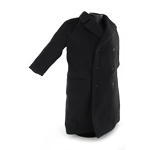 Overcoat Large Size (Black)