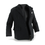 Suit Jacket Large Size (Black)