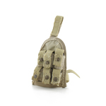 Pochette de cuisse cartouches grenade 40mm
