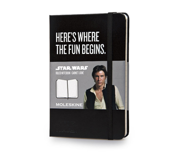 Notebook Star Wars - Here's Where The Fun Begins