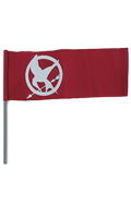 Drapeau The Hunger Games (Rouge)