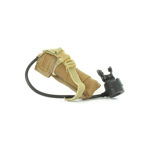 Helicopter emergency egress w/ tan pouch device