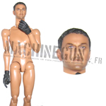 Male nude body Secret service