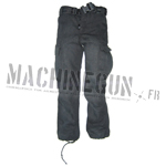 Tactical black trouser w/ tactical belt
