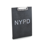 NYPD Notepad (Black)