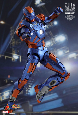 Iron Man 3 - Mark XXVII Disco