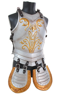 Diecast Paladin Body Armor (Silver)