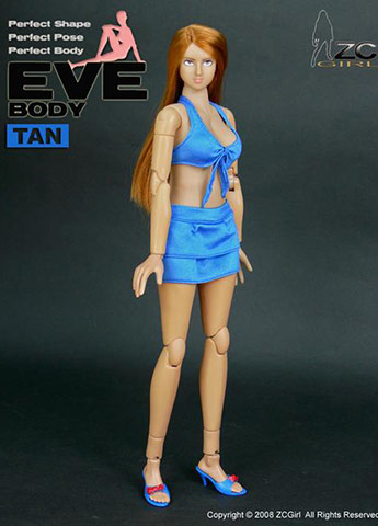 Eve Body Tan