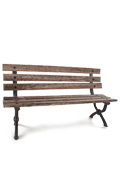 Wooden Park Chair (Brown)